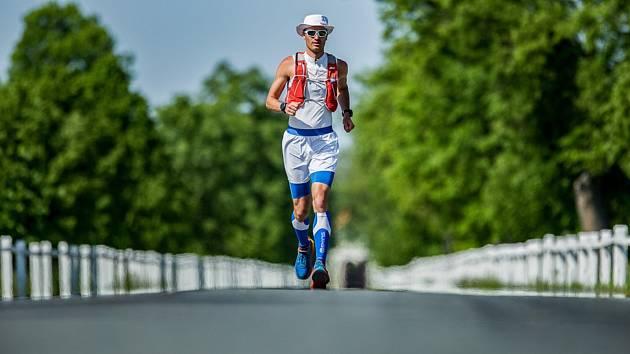 Extrémní vytrvalostní běžec Štěpán Dvořák.