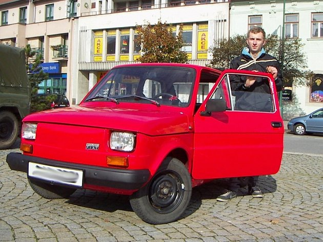 Fiat 126 P Michala Hlinky vyrobený v roce 1988.