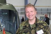 Končící velitel základny v Náměstí nad Oslavou Miroslav Svoboda.