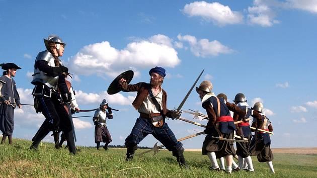 Švédští vojáci se znovu vrhli do bitvy u Mastníka, v pořadí již šesté.