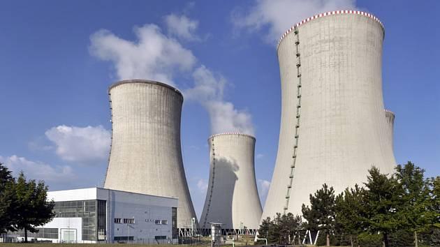 Jaderná elektrárna v Dukovanech na Třebíčsku.