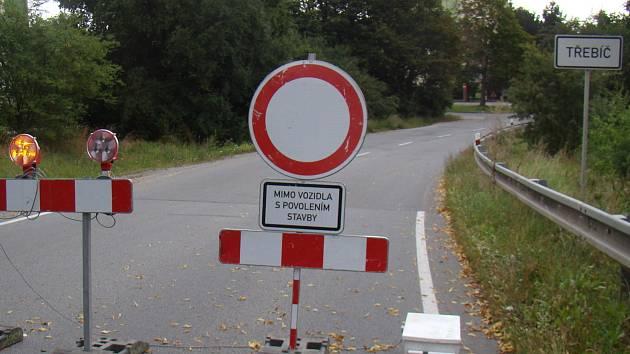 Dopravní omezení.