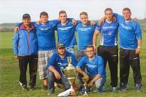Současné závodní družstvo SDH Příložany, foto z roku 2017