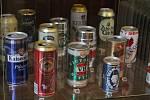 V galerii Tympanon v třebíčském zámku je do 8. března 2020 výstava pivních artefaktů ze sbírek ETTA Clubu Třebíč.