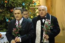 Ladislav Šabacký (vlevo).