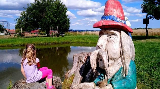 Stezka u Panenské na Třebíčsku nabízí bohaté vyžití nejen pro děti, ale i dospělé. Byli jste tam?