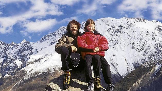 Leoš Šimánek na Novém Zélandu.