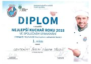 Diplom za 1. místo.