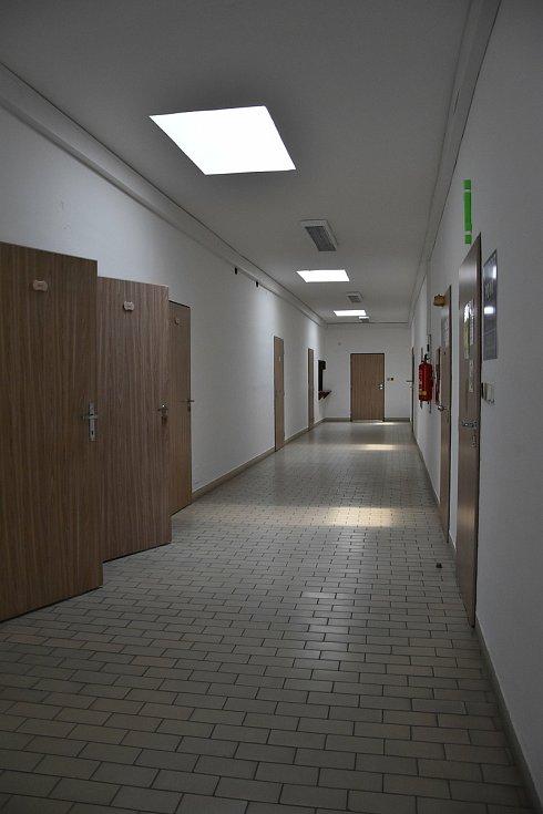 V letošním roce chce město opravit první druhé patro budovy, kde se nachází kanceláře nebo student point.