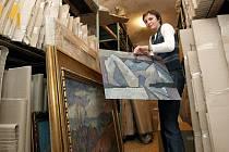 Do prostorného depozitáře přestěhuje zanedlouho Muzeum Vysočiny Třebíč ze zámku přes statisíce sbírkových předmětů a desetitisíce knih.