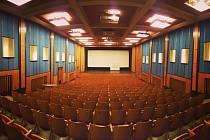 Kinosál v Moravských Budějovicích.