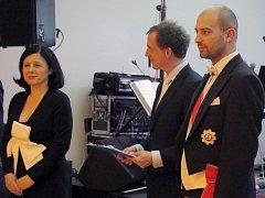 Reprezentační ples v Třebíči navštívila eurokomisařka Věra Jourová i šlechtic Svatopluk Richard Vladislav Norbert kníže von Haugwitz a baron z Biskupitz.