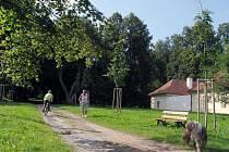 Zámecký park v Budišově dostává novou tvář. U konce je první etapa obnovy zámecké aleje.