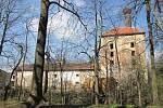 Budova bývalého panského pivovaru v Želetavě.