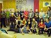 Společná fotografie běžců z vyhlášení pátého ročníku Třebíčského běžeckého poháru.