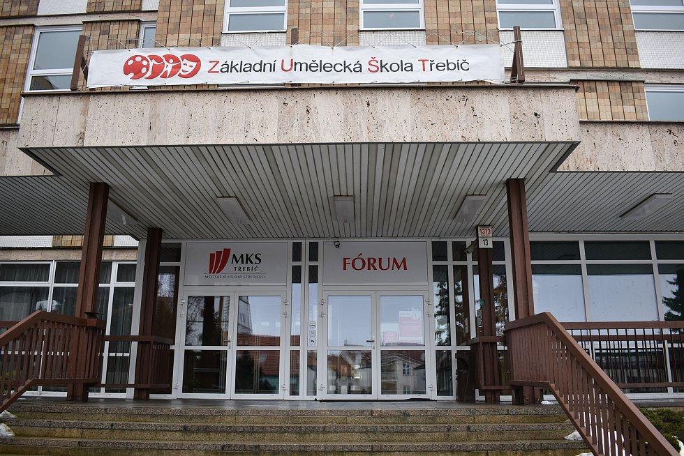 V Třebíči by mělo očkovací centrum vzniknout ve Velkém sále kulturního centra Fórum.