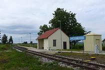 Vlaková zastávka v Hvězdoňovicích nyní nefunguje.