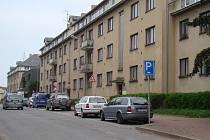 Městské byty v ulici Husova v Náměšti nad Oslavou.