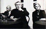 Výstava Přátelé v Galerii Ladislava Nováka.