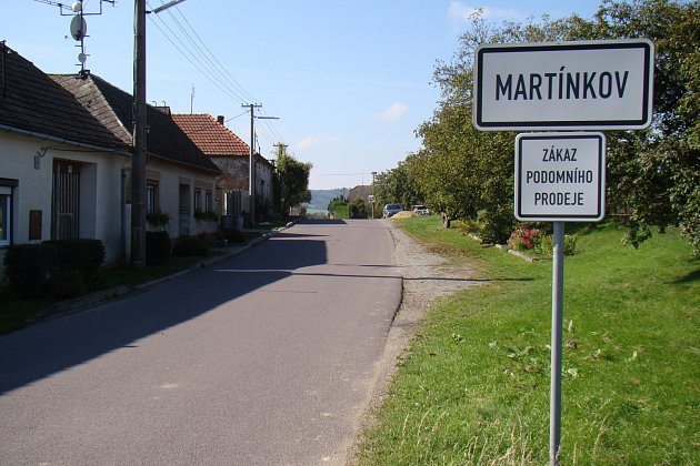 Martínkov.