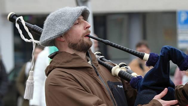 Festival svatého Patrika v Třebíči.