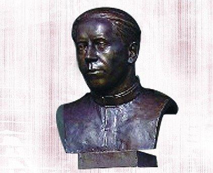 Busta kněze Václava Drboly.