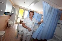 Nové unikátní oddělení dlouhodobé intenzivní ošetřovatelské péče (DIOP) v pátek otevřeli v prostorách Léčebny dlouhodobě nemocných v Třebíči.