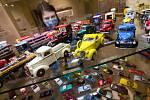 Výstava angličáků pod názvem Majklova autíčka v Třebíči.