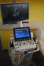 Nové ultrazvukové diagnostické přístroje v třebíčské nemocnici.