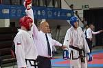 Třebíčský oddíl Taekwondo tentokrát reprezentoval pouze Vojtěch Fiala. Tomu se ve velké konkurenci podařilo v disciplíně sportovní boj ve váze do 90 kg získat skvělé třetí místo.