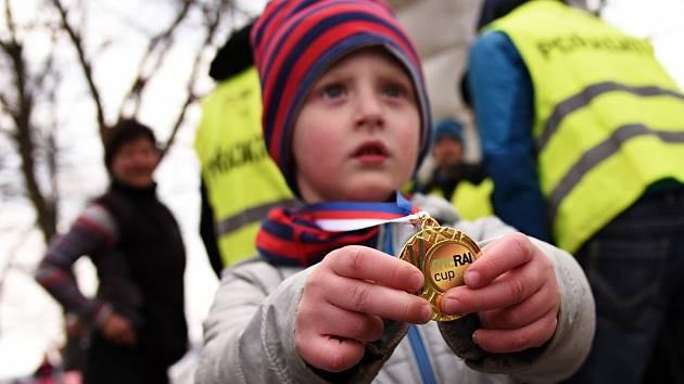 Oblíbený běh na Hrádku zaznamenal rekordní účast