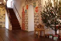 Atmosféru tradičních českých Vánoc zažijí návštěvníci expozice Cesty časem v třebíčském Předzámčí.