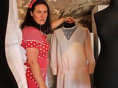 Hana Procházková otevře v Čechtíně 1. května muzeum svatebních šatů.