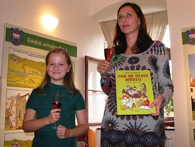 V Třebíči se křtila kniha Jak se staví město.