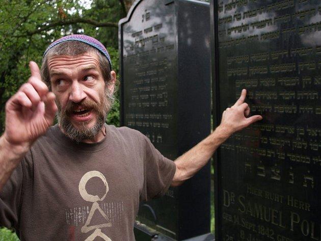 Průvodcem jedné z částí festivalu Šamajim byl hebraista Jaroslav Achab Haidler.