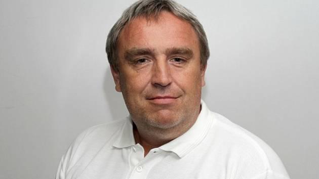 Šéf Horácké Slavie Třebíč Martin Svoboda.