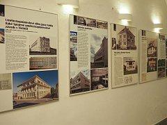 Výstava na třebíčské radnici.