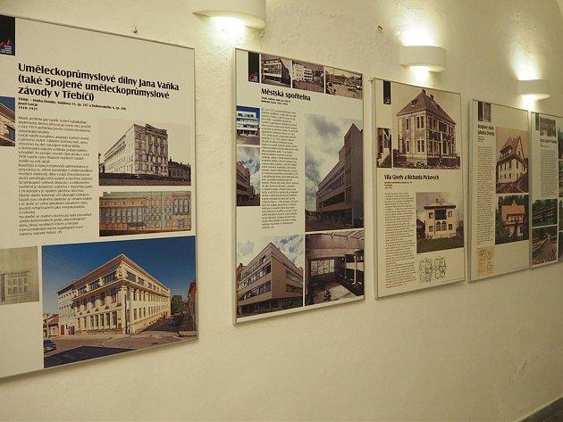 Stavby století jsou vystavené na třebíčské radnici