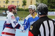Jihlava si opět po roce zahraje finále play-off Moravské hokejbalové ligy.