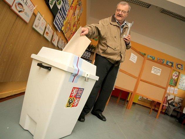 Volby na Třebíčsku - Třebíč.