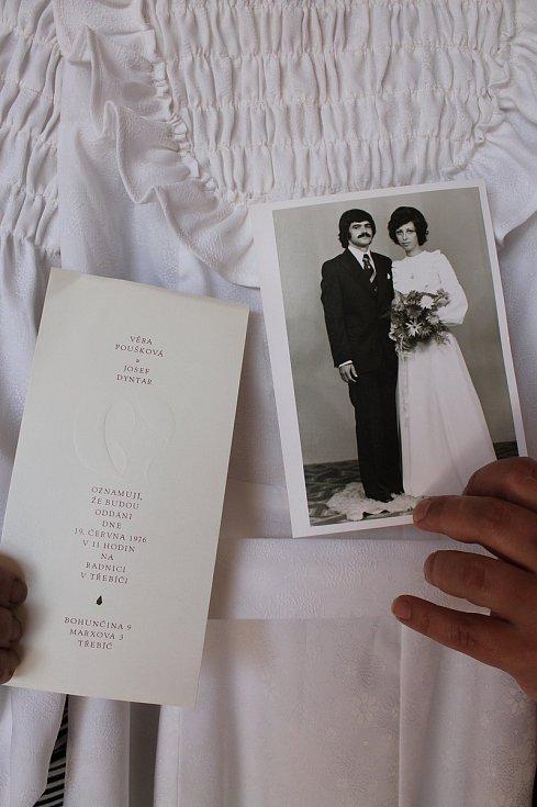 Hana Procházková otevře v Čechtíně 1. května muzeum svatebních šatů. Upomínka na jednu třebíčskou svatbu.