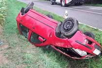 Nehoda u Dešova.