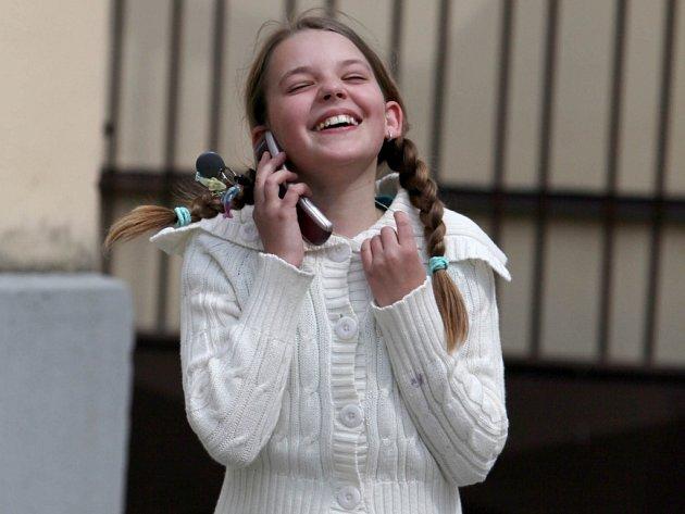 Mezi šťastnými třiceti přijatými na víceleté gymnázium je i Gabriela na snímku.