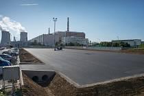 Nové parkoviště u dukovanské jaderné elektrárny přivítá bruslaře.