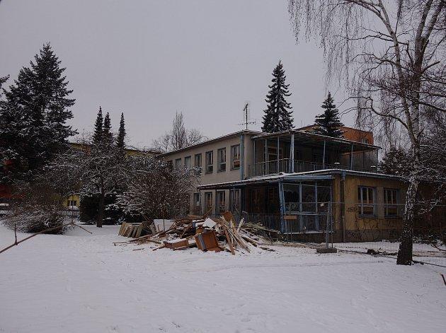 Bývalá oční škola v třebíčské Demlově ulici. Bude z ní chráněné bydlení.
