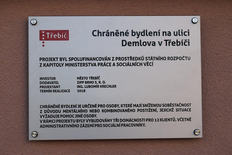 Nové chráněné bydlení v Demlově ulici v Třebíči přivítá své obyvatele už v lednu.