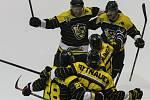 Druholigoví hokejisté Moravských Budějovice vyřadily Sokolov a v semifinále se utkají stejně jako v loňském play-off s Havlíčkovým Brodem.