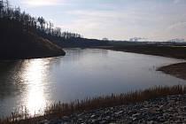 Nová vodní plocha bude od letošního léta sloužit turistům u Mohelna.