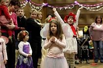 Sobotní dětský karneval v Náměšti nad Oslavou