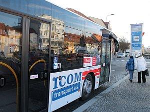 Autobus MAD Třebíč.
